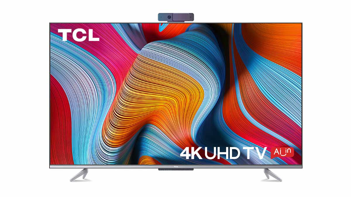 2021 TCL 4K HDR TV P725 – India's first smart TV powered by Android 11 and video call camera, and other advanced features like Dolby Vision & Atmos, MEMC, among others